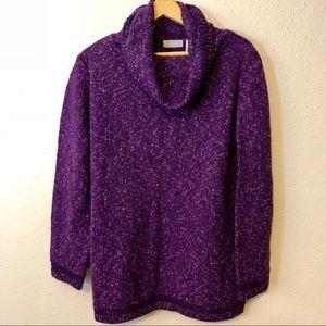 IVY Purple Vintage Sweater / Size Medium